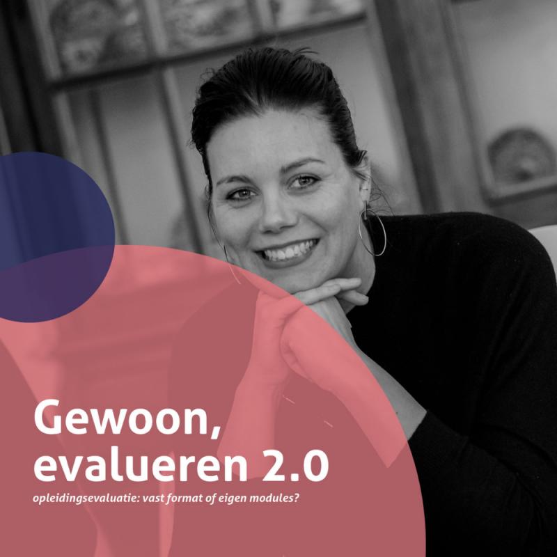 Brochure Gewoon, evalueren 2.0